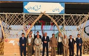 بازدید مدیرکل آموزش و پرورش استان بوشهراز کاروان راهیان نور در خوزستان