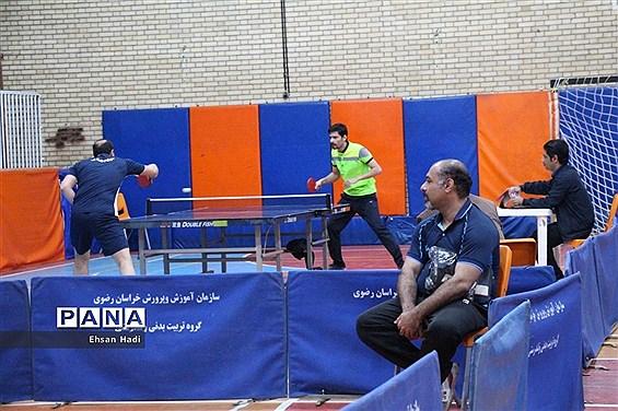 رقابت های ورزشی فرهنگیان خراسان رضوی به مناسبت ایام الله دهه مبارک فجر