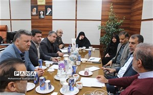 جلسه مدیران آموزش و پرورش مناطق جنوبی شهرتهران در منطقه19