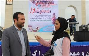 مسابقات بازی های بومی و محلی جشنواره ورزشی دا در بوشهر برگزار شد