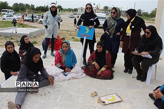 مسابقات بازی های بومی و محلی جشنواره ورزشی دا در بوشهر