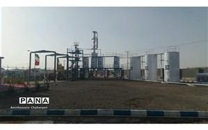افتتاح پالایشگاه تولید بنزین در شهرستان مرزی تایباد