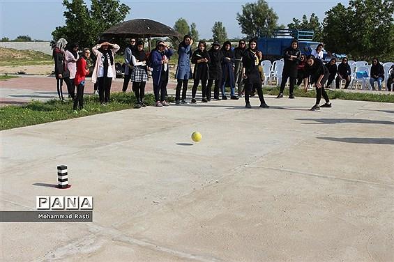 جشنواره ورزشی دا در رشته های هفت سنگ مهارتی و لی لی مرحله  در بوشهر