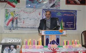همایش تشکیلاتی  یاوران انقلاب در منطقه بام وصفی آباد برگزار شد