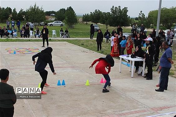 مرحله استانی جشنواره ورزشی دا  در بوشهر رشته  دال پلان ، تیر و کمون سنتی و دوزپا
