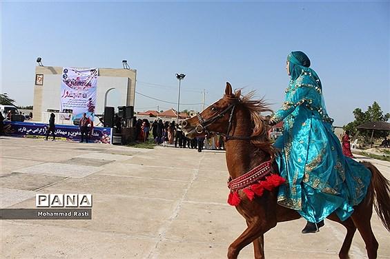 اختتامیه مسابقات بازی های بومی و محلی جشنواره ورزشی دا در بوشهر