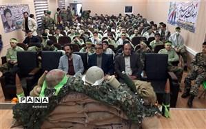 مراسم دهه فجر دبیرستان 15 خرداد منطقه 12