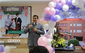 افتتاحیه دبستان خیرساز شهید غلامعلی رازفر در منطقه ۳