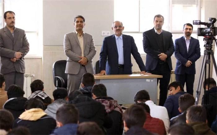 بازدید سرزده از مدارس فشافویه