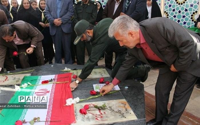 یاوران انقلاب که به میزبانی ناحیه هفت مشهد