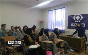برگزاری کارگاه  اموزشی و جلسه توجیهی خبرنگاران پانا در شهرستان امیدیه
