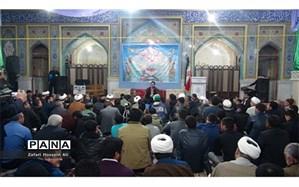 برگزاری محفل انس با قرآن فجر انقلاب در آستان مقدس حمزة الرضا(ع) شیروان