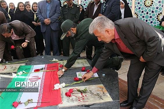 همایش یاوران انقلاب در ناحیه هفت مشهد