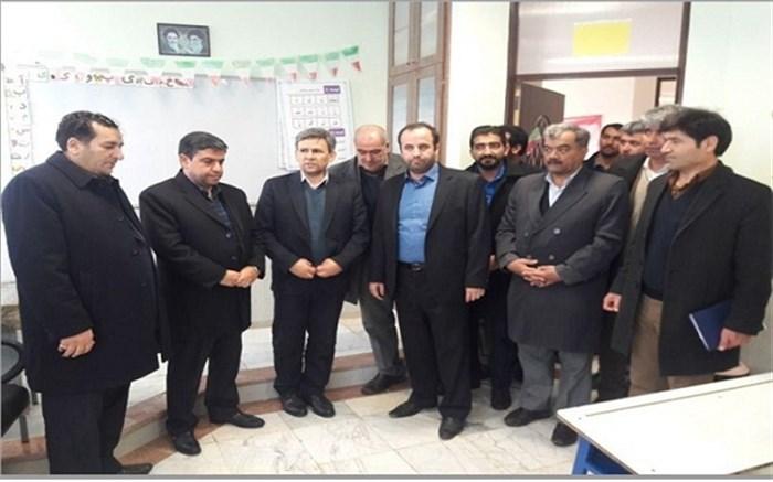 افتتاح آموزشگاه شش کلاسه برکت مریم بودالالوی منطقه هیر