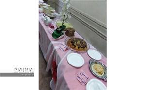 برگزاری جشنواره غذای ایرانی در دارالقرآن منطقه 8 تهران