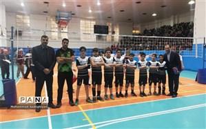 قهرمانی منطقه 19 در مسابقات والیبال مدارس شاهد شهر تهران