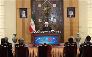 روحانی: تحریم ظالمانه آمریکا صددرصد غیرانسانی و اقدامی تروریستی علیه کل مردم ایران است