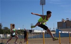 مسابقات قهرمانی دو و میدانی دانش آموزان پسر استان بوشهر برگزار شد