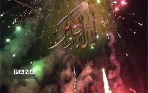 ندای الله اکبر در لرستان طنین انداز شد