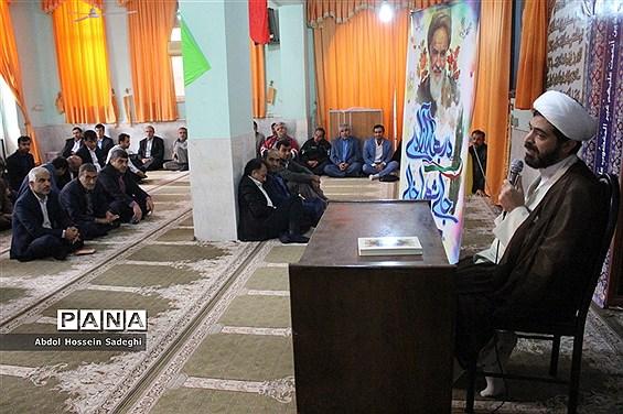 گرامیداشت سالروز پیروزی انقلاب اسلامی در ادارهکل آموزش و پرورش استان بوشهر
