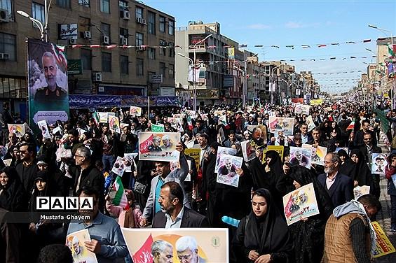 راهپیمایی 22بهمن در اهواز