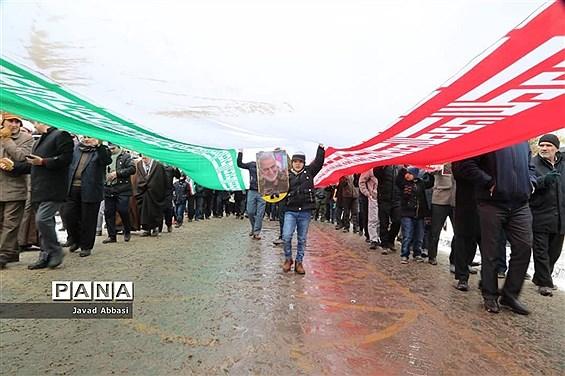 راهپیمایی باشکوه 22 بهمن 98 زنجان
