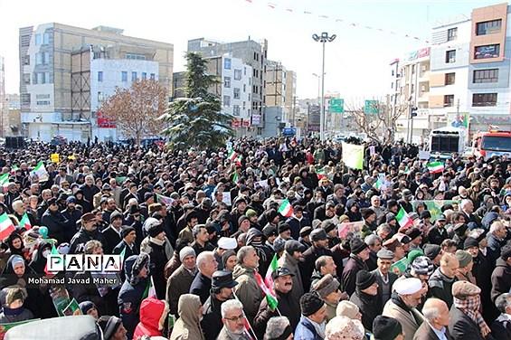 مراسم راهپیمایی 22 بهمن در شهرقدس(2)