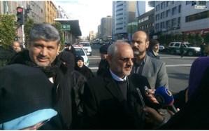حضور وزیر آموزش و پرورش در راهپیمایی 22 بهمن