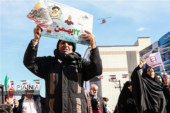 راهپیمایی 22 بهمن در اهواز -2