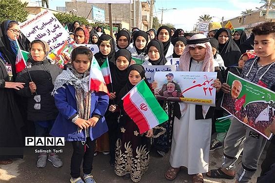 مراسم راهپیمایی ۲۲بهمن ۹۸ شهرستان حمیدیه