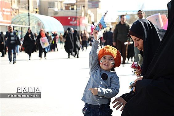 برگزاری مراسم فجر چهل و یک با حضور نسل های اول و چهارم انقلاب در شیراز