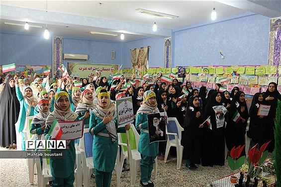 طرح ملی لاله های روشن در دبستان دخترانه عترت برازجان