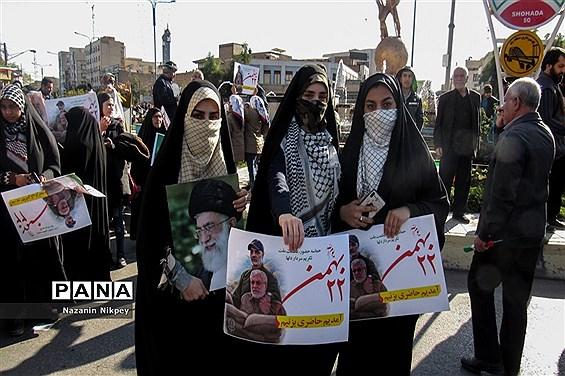 چهل و یکمین  راهپیمایی 22 بهمن در اهواز