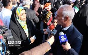 رییس سازمان دانش آموزی خوزستان :دانش آموزان بر حفظ وعمل به شعارهای انقلاب پایبند باشند