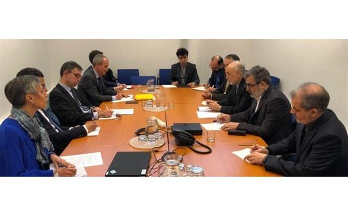 دیدار صالحی با رئیس سازمان انرژی اتمی فرانسه