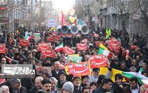 بیعت مجدد مردم پلدختر در ۲۲ بهمن با آرمانهای انقلاب