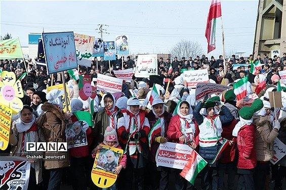 راهپیمایی 22بهمن ماه در شهرستان شاهین دژ