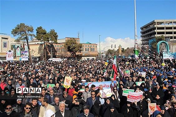 مراسم راهپیمایی 22 بهمن در شهرری