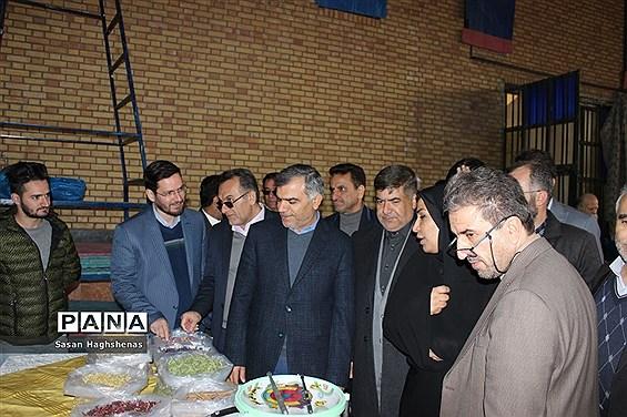 نمایشگاه کارآفرینی و تولیدات روستای حسن آباد خالصه اسلامشهر