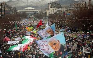 پیام قدردانی استاندار خراسان رضوی از مردم بهخاطر حضور پرشور در راهپیمایی ۲۲ بهمن