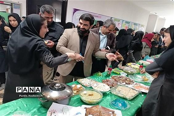 جشنواره صنایع دستی، غذاهای سنتی و دست سازههای علمی دانشآموزی شهرستان آغاجاری