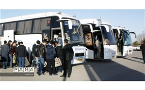 اعزام ۱۶۰ نفر از دانش آموزان میبدی به مناطق جنگی جنوب