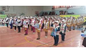 مانور تشکیلاتی یاوران انقلاب در آموزش و پرورش ناحیه یک سنندج برگزار شد