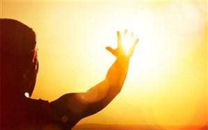 نور خورشید را با کف دست جذب کنید