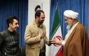 امام جمعه قزوین از برنده سیمرغ بلورین جشنواره فیلم فجر تجلیل کرد