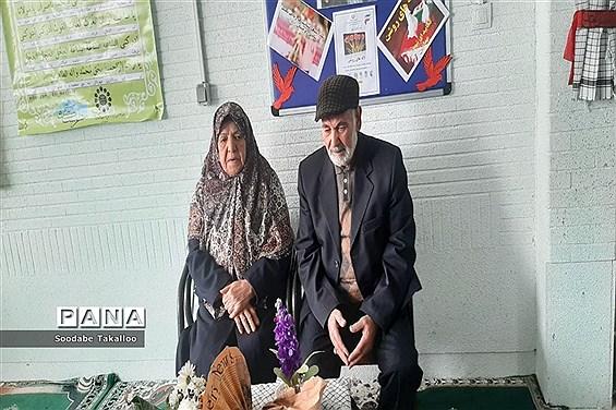 برگزاری یادواره شهیدان سلطانی در دبستان شاهد ٢ ملایر