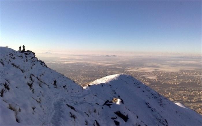 کوه های عظیمیه کرج