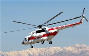 ۶ سورتی پرواز برای خدمات رسانی در برف گیلان انجام شد