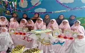 جشن تکلیف  و بزرگداشت سالگرد پیروزی انقلاب اسلامی در  دبستان سارا بوشهر