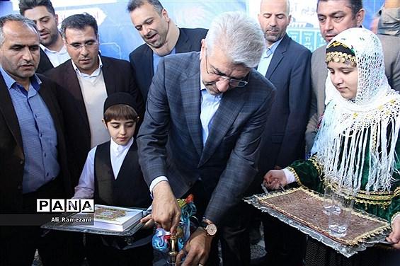 بهرهبرداری از پروژه آبرسانی روستای ریکنده قائمشهر با حضور وزیر نیرو